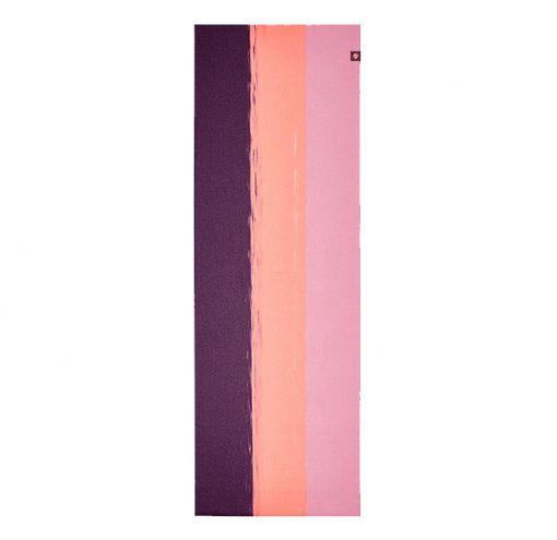 Superlite Travel Yoga Mat fuchsia stripe