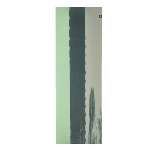Superlite Travel Yoga Mat green ash stripe