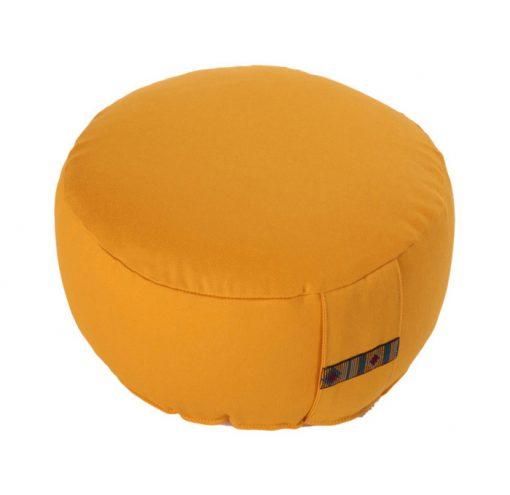meditationskissen basic gelb