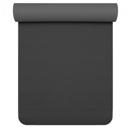 TPE Pro Yogamatte schwarz anthrazit