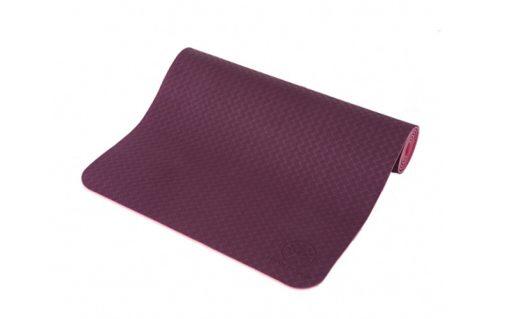 yogamatte tpe lila pink