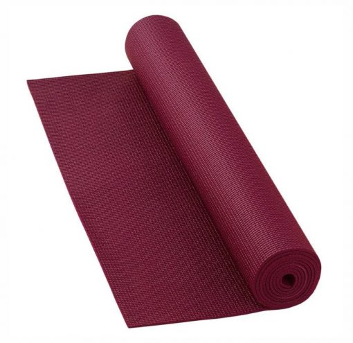 yogamatte basic bordeaux