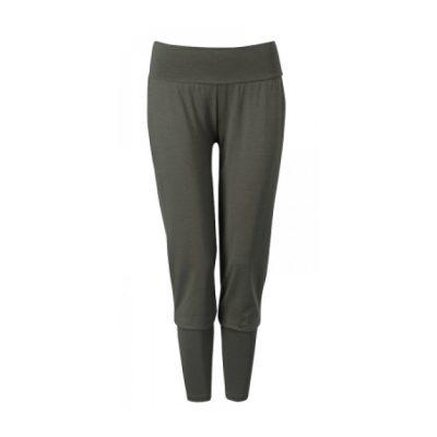 wellicious yogahose energy pants evergreen