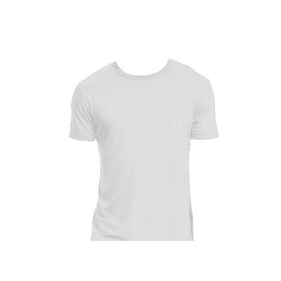 Herren T-Shirt bamboo weiss