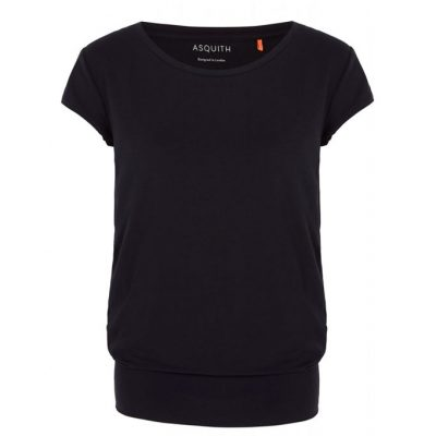 asquith smooth you tee black