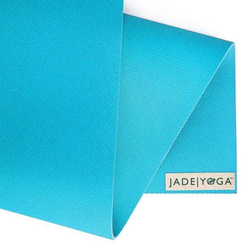 JadeYoga Harmony Naturkautschuk Yogamatte Ltd. Teal