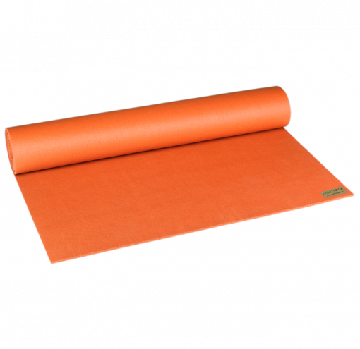 jade yoga harmony professional mat orange