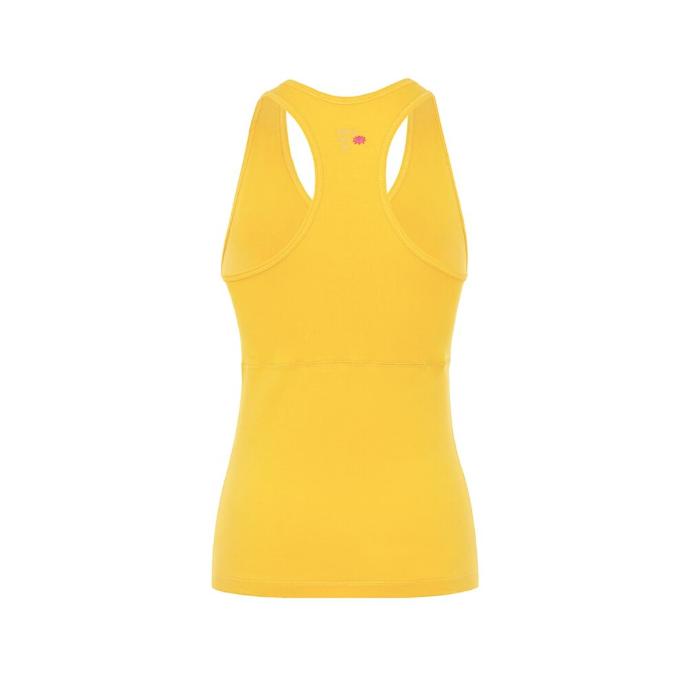 Mandala Wrap Top Yellow Gr S Little Yoga Store