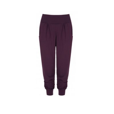 asquith harem pant blackcurrant