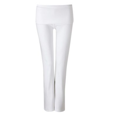 wellicious true pants white