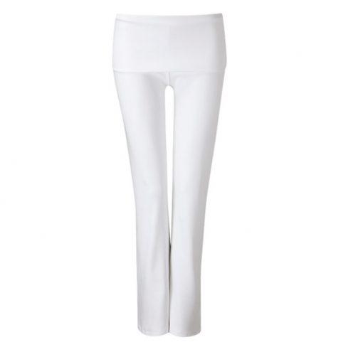 wellicious true pants white