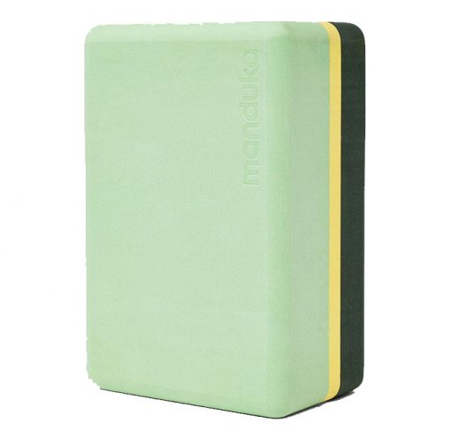 Foam Yoga Block Green Ash