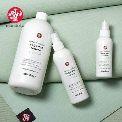 Manduka Matwash 2021 Gingergrass Natural Rubber Cleaner