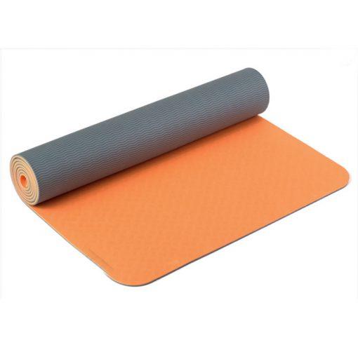 yogamatte tpe orange