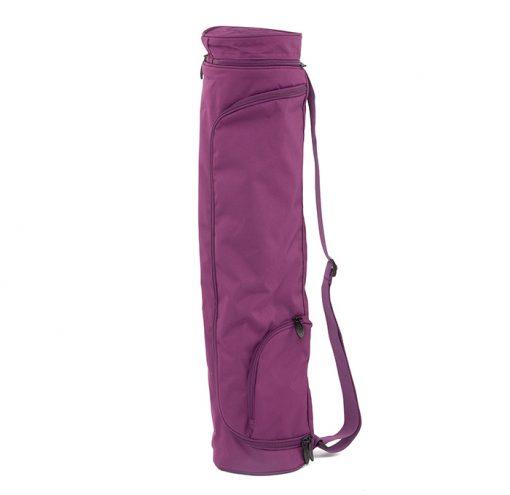 Asana Bag Matten Tasche Aubergine