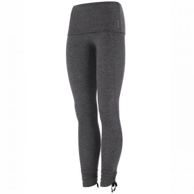 mandala pro tech leggings grey melange