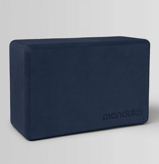 manduka yoga block midnight