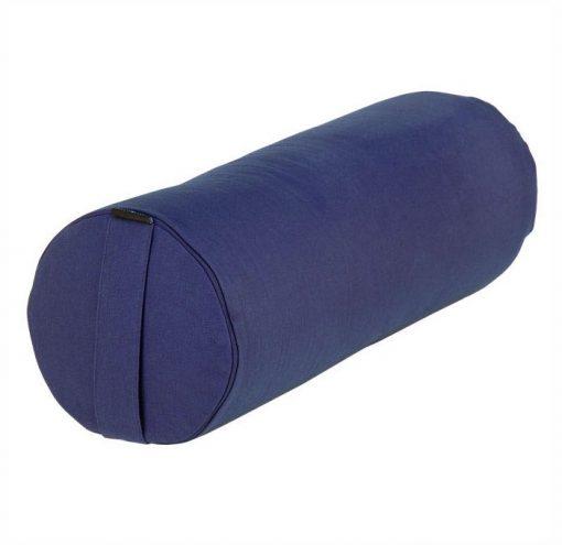 yoga bolster basic blau