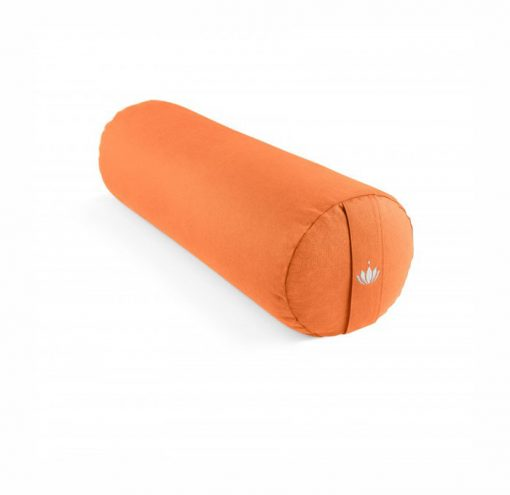 Yoga bolster restorative orange