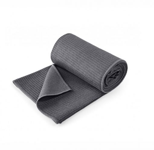 yoga handtuch grip anthrazit