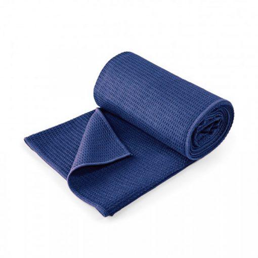 yoga handtuch lotuscraft grip blau
