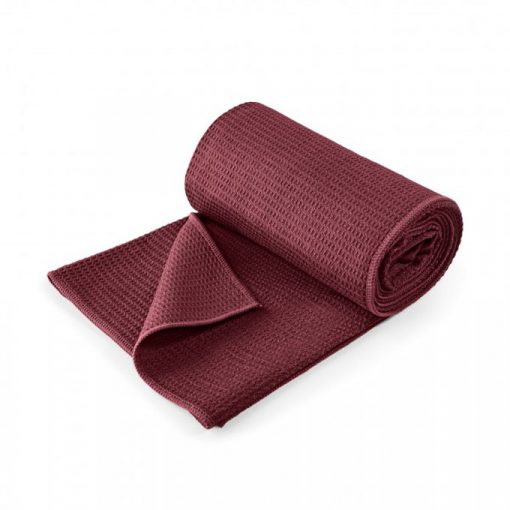 yoga handtuch grip bordeaux