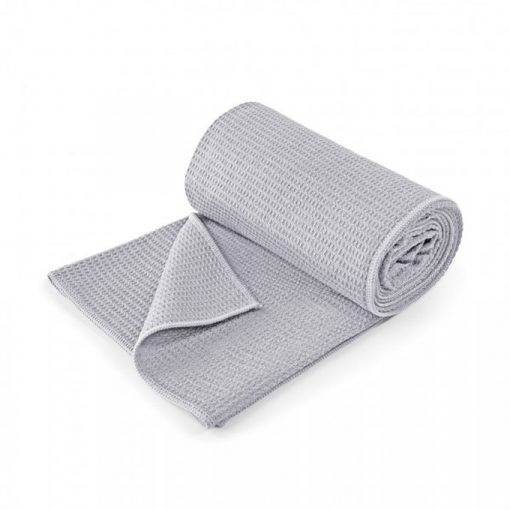 yoga handtuch lotuscraft grip zementgrau