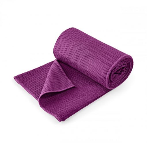 yoga handtuch lotuscraft violett