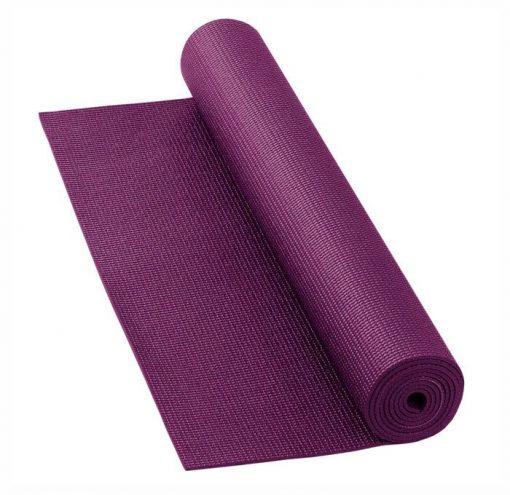 yogamatte basic aubergine
