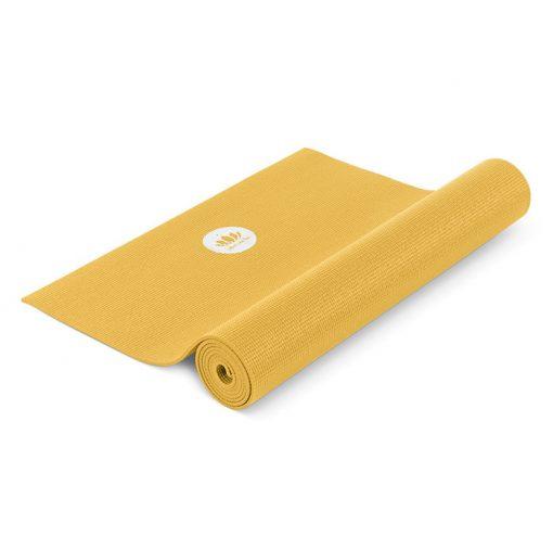 Anfänger Yoga Matte Mudra XL Saffran Gelb