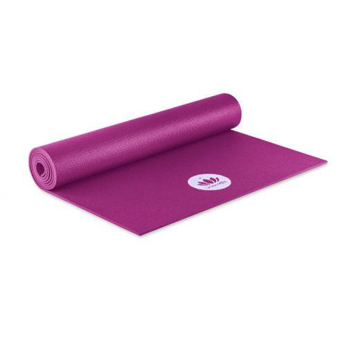 yogamatte mudra violett