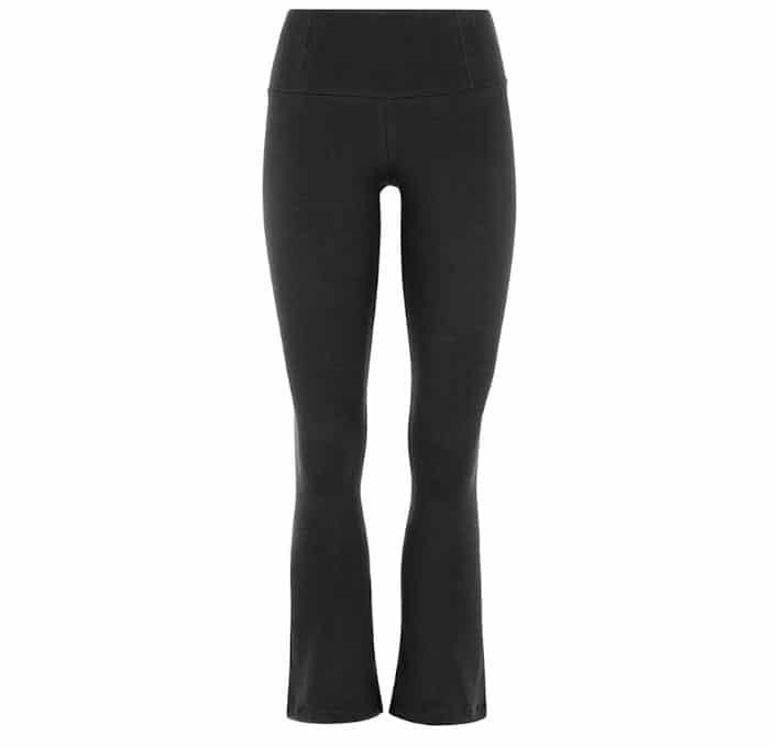 Mandala Kick Flare Pants Black Gr Xl Little Yoga Store