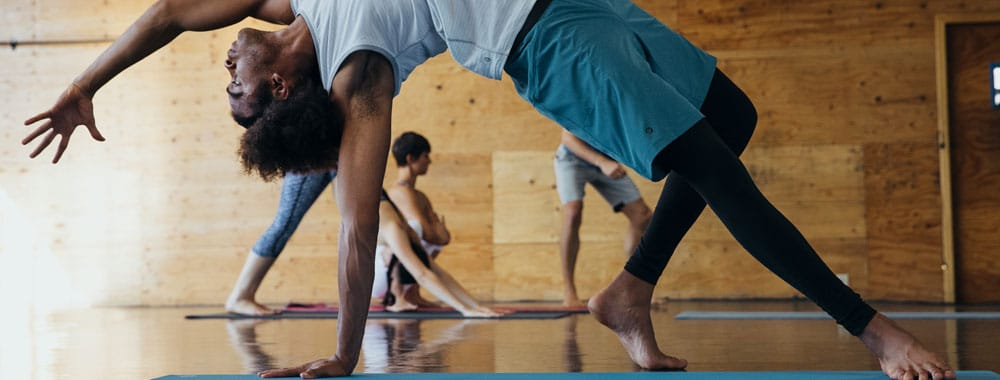 yogamatte rutschfest