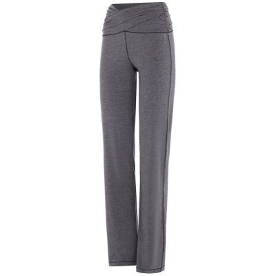 mandala fashion high rise yoga pants grey melange