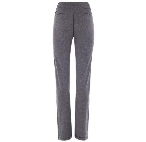 mandala fashion high rise yoga pants grey melange 2