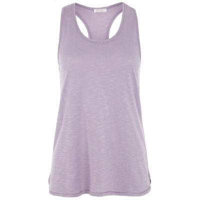 mandala yoga top easy tank lilac