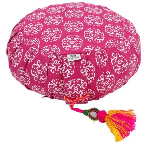Meditationskissen zafu pink