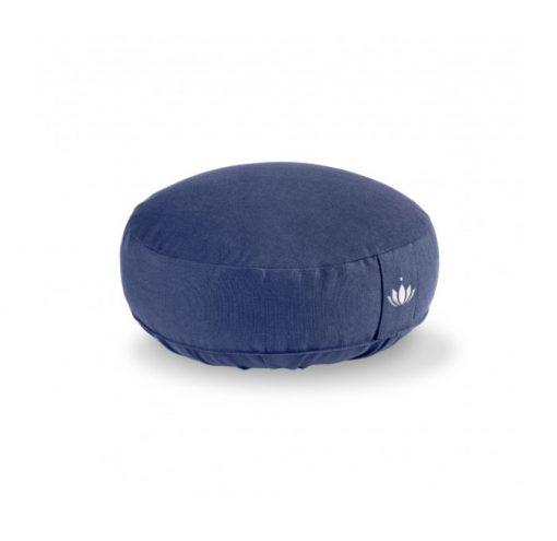 meditationskissen lotus koenigsblau