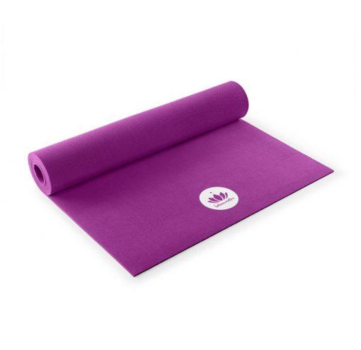 yogamatte oeko violett