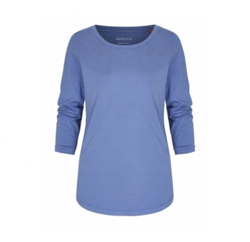 asquith sleeve tee surf blue