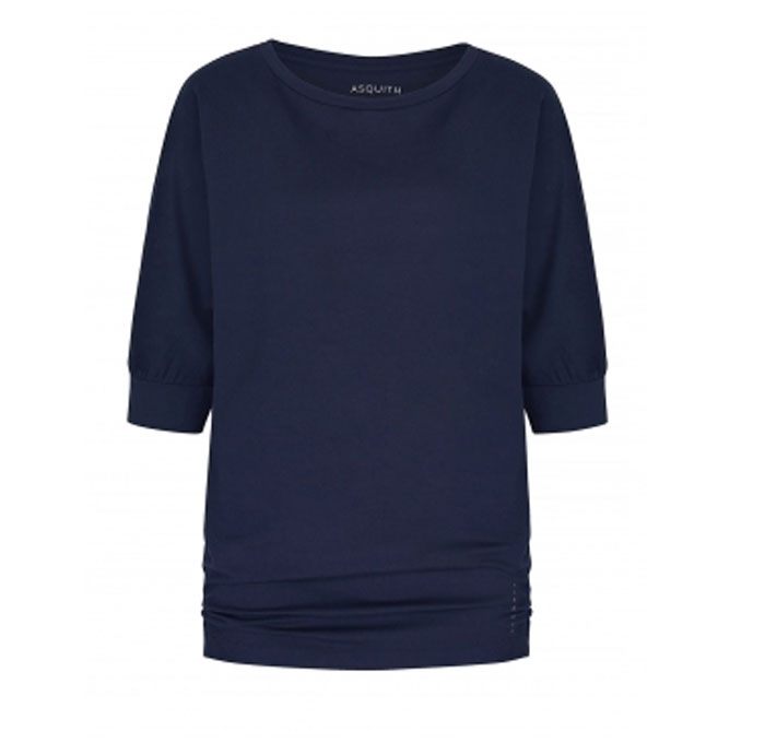 Asquith Be Grace Batwing Navy Gr L Little Yoga Store