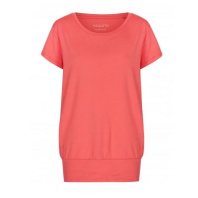 asquith smooth you tee coral