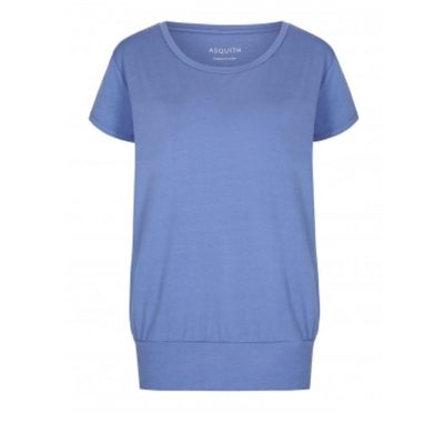 asquith smooth you tee surf blue