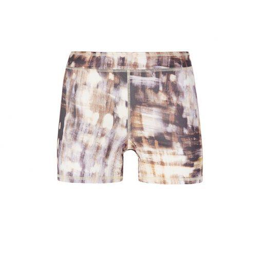 mandala fashion printed shorts bamboo forest