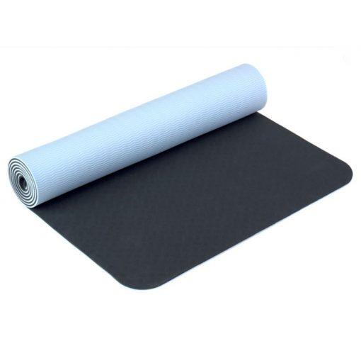 yogamatte tpe schwarz
