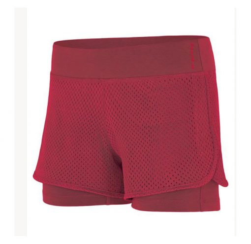 mandala fashion yoga short rumba red