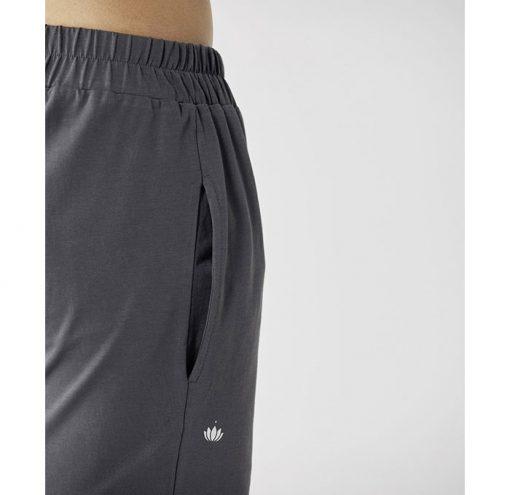 lotuscraft organic yoga shorts grau 3