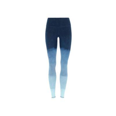mandala fashion tie dye pants blue night