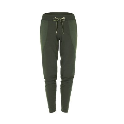 mandala n.y. pants aviator green