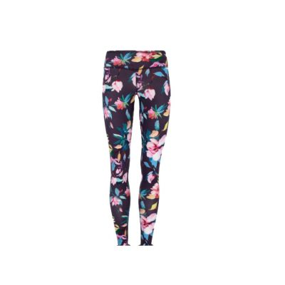 mandala printed leggings flower garden